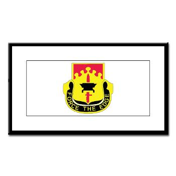 615ASB - M01 - 02 - DUI - 615th Aviation Support Battalion - Small Framed Print