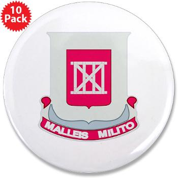 "62EB- M01 - 01 - DUI - 62nd Engineer Bn - 3.5"" Button (10 pack)"