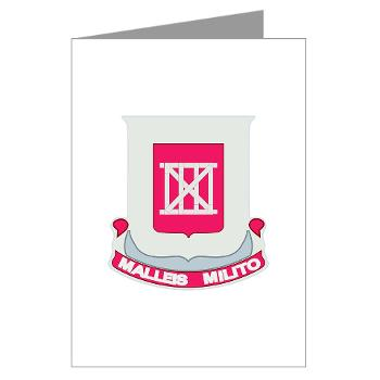 62EB- M01 - 02 - DUI - 62nd Engineer Bn - Greeting Cards (Pk of 10)