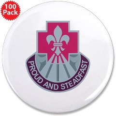 "62MB - M01 - 01 - DUI - 62nd Medical Brigade 3.5"" Button (100 pack)"