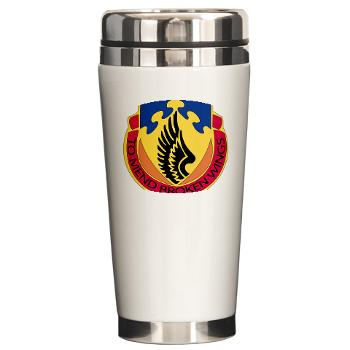 602ASB - M01 - 03 - DUI - 602 Aviation Support Bn - Ceramic Travel Mug