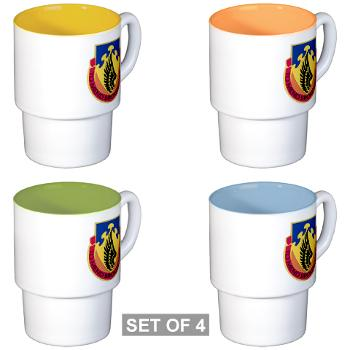 602ASB - M01 - 03 - DUI - 602 Aviation Support Bn - Stackable Mug Set (4 mugs)