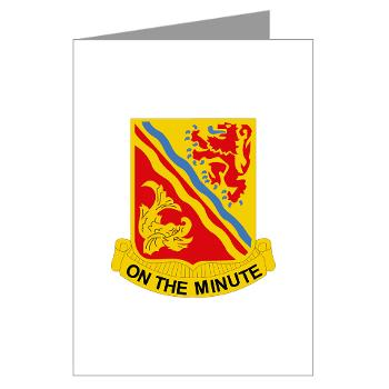 6B37FA - M01 - 02 - DUI - 6th Battalion, 37th Field Artillery Greeting Cards (Pk of 10)