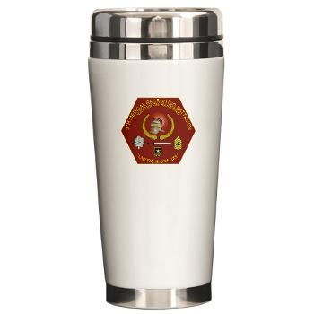 6MRB - M01 - 03 - DUI - 6th Medical Recruiting Bn Ceramic Travel Mug