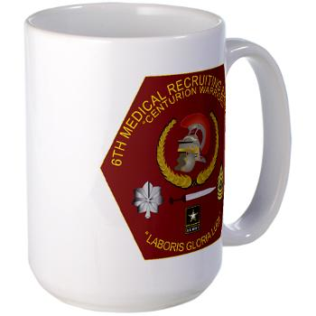 6MRB - M01 - 03 - DUI - 6th Medical Recruiting Bn Large Mug