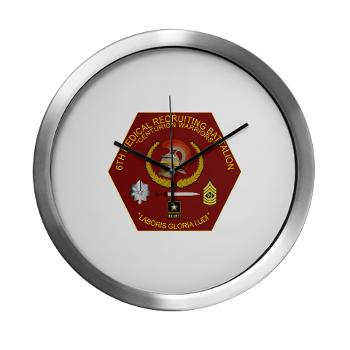6MRB - M01 - 03 - DUI - 6th Medical Recruiting Bn Modern Wall Clock