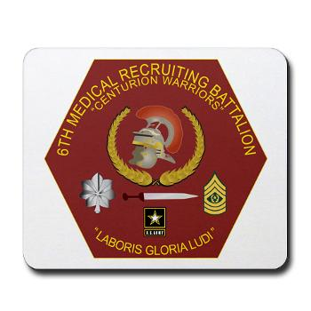 6MRB - M01 - 03 - DUI - 6th Medical Recruiting Bn Mousepad