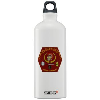 6MRB - M01 - 03 - DUI - 6th Medical Recruiting Bn Sigg Water Bottle 1.0L