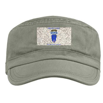 6RTB - A01 - 01 - DUI - 6th Ranger Training Bde with Text - Military Cap
