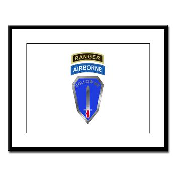 6RTB - M01 - 02 - DUI - 6th Ranger Training Bde - Large Framed Print