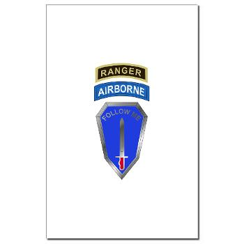 6RTB - M01 - 02 - DUI - 6th Ranger Training Bde - Mini Poster Print