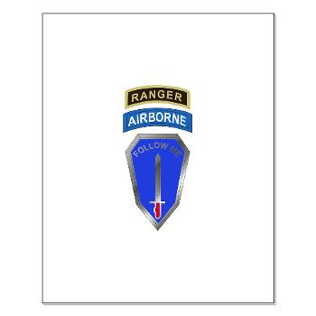 6RTB - M01 - 02 - DUI - 6th Ranger Training Bde - Small Poster
