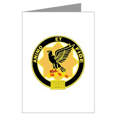 6S1CR - M01 - 02 - DUI - 6th Squadron - 1st Cavalry Regiment Greeting Cards (Pk of 20)