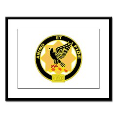 6S1CR - M01 - 02 - DUI - 6th Squadron - 1st Cavalry Regiment Large Framed Print