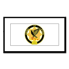 6S1CR - M01 - 02 - DUI - 6th Squadron - 1st Cavalry Regiment Small Framed Print