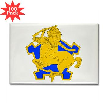 6S9CR - M01 - 01 - DUI - 6th Squadron - 9th Cavalry Regiment - Rectangle Magnet (100 pack)