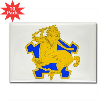 6S9CR - M01 - 01 - DUI - 6th Squadron - 9th Cavalry Regiment - Rectangle Magnet (10 pack)