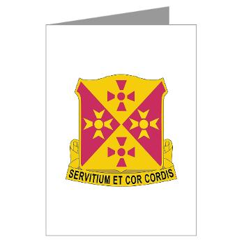 701BSB - M01 - 02 - DUI - 701st Bde - Support Bn - Greeting Cards (Pk of 10)
