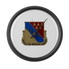702BSB - M01 - 03 - DUI - 702nd Bde - Support Bn - Large Wall Clock