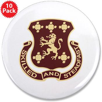 "704SB - M01 - 01 - DUI - 704th Support Battalion - 3.5"" Button (10 pack)"