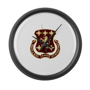 704SB - M01 - 03 - DUI - 704th Support Battalion - Large Wall Clock