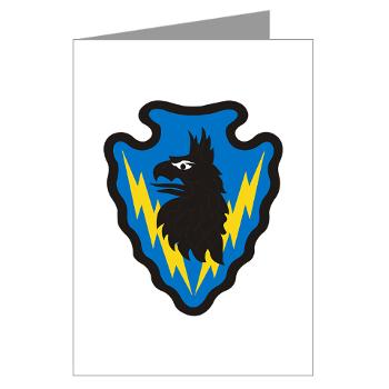 71BSB - M01 - 02 - SSI - 71st Battlefield Surveillance Brigade - Greeting Cards (Pk of 10)