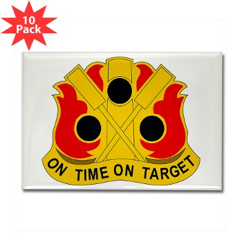 72FAB - M01 - 01 - DUI - 72nd Field Artillery Brigade - Rectangle Magnet (10 pack)