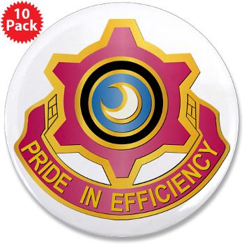 "751MB - M01 - 01 - DUI - 751st Maintenance Battalion - 3.5"" Button (10 pack)"