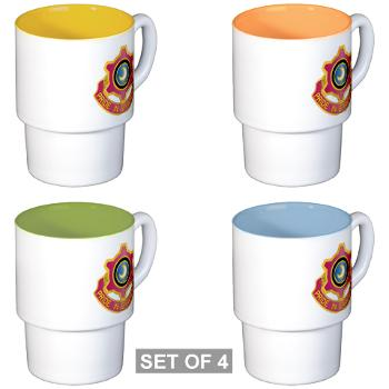 751MB - M01 - 03 - DUI - 751st Maintenance Battalion - Stackable Mug Set (4 mugs)