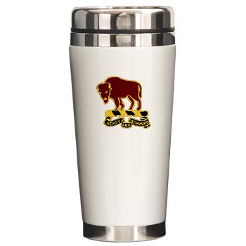 7S10CR - M01 - 03 - DUI - 7th Sqdrn - 10th Cavalry Regt - Ceramic Travel Mug