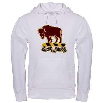 7S10CR - A01 - 03 - DUI - 7th Sqdrn - 10th Cavalry Regt - Hooded Sweatshirt