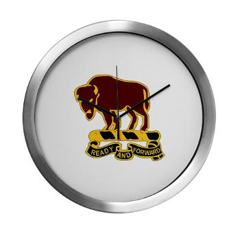 7S10CR - M01 - 03 - DUI - 7th Sqdrn - 10th Cavalry Regt - Modern Wall Clock