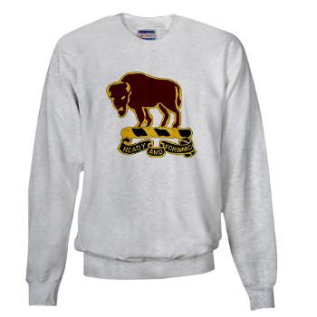 7S10CR - A01 - 03 - DUI - 7th Sqdrn - 10th Cavalry Regt - Sweatshirt