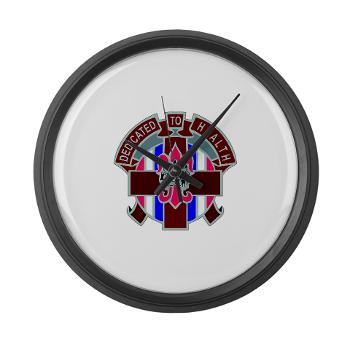807MC - M01 - 03 - DUI - 807th Medical Command - Large Wall Clock
