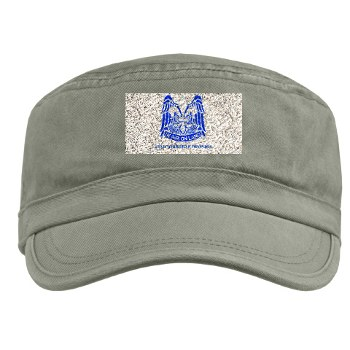 82DV - A01 - 01 - DUI - 82nd Airborne Division with Text Military Cap