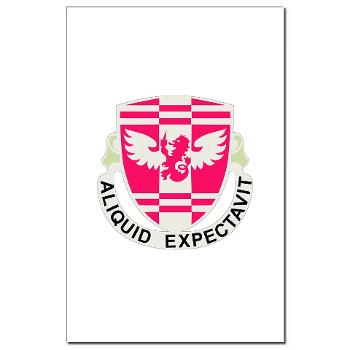 864EB - M01 - 02 - DUI - 864th Engineer Battalion - Mini Poster Print