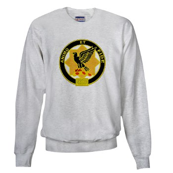8S1CR - A01 - 03 - DUI - 8th Squadron - 1st Cavalry Regiment Sweatshirt