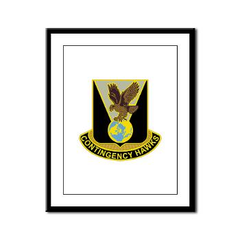 900CCB - M01 - 02 - DUI - 900th Contingency Contracting Battalion - Framed Panel Print