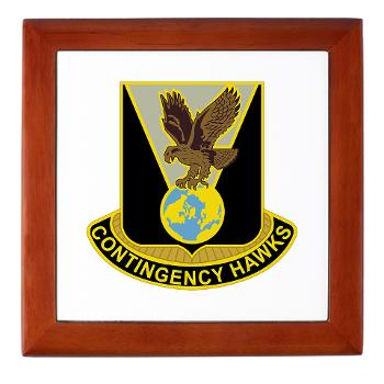 900CCB - M01 - 03 - DUI - 900th Contingency Contracting Battalion - Keepsake Box