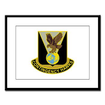 900CCB - M01 - 02 - DUI - 900th Contingency Contracting Battalion - Large Framed Print