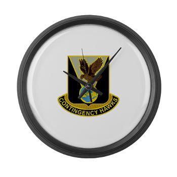 900CCB - M01 - 03 - DUI - 900th Contingency Contracting Battalion - Large Wall Clock