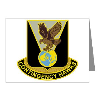 900CCB - M01 - 02 - DUI - 900th Contingency Contracting Battalion - Note Cards (Pk of 20)