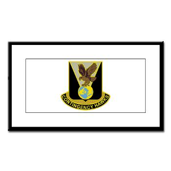 900CCB - M01 - 02 - DUI - 900th Contingency Contracting Battalion - Small Framed Print