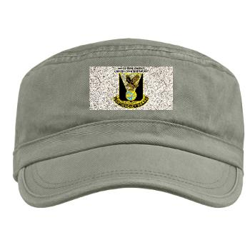 900CCB - A01 - 01 - DUI - 900th Contingency Contracting Battalion with Text - Military Cap
