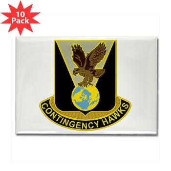 900CCB - M01 - 01 - DUI - 900th Contingency Contracting Battalion - Rectangle Magnet (10 pack)