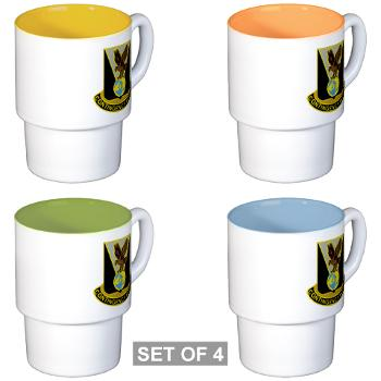 900CCB - M01 - 03 - DUI - 900th Contingency Contracting Battalion - Stackable Mug Set (4 mugs)