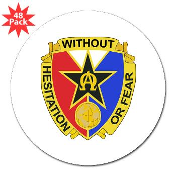 "901CCB - M01 - 01 - DUI - 901st Contingency Contracting Battalion - 3"" Lapel Sticker (48 pk)"