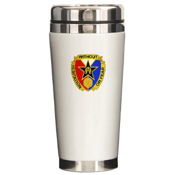 901CCB - M01 - 03 - DUI - 901st Contingency Contracting Battalion - Ceramic Travel Mug