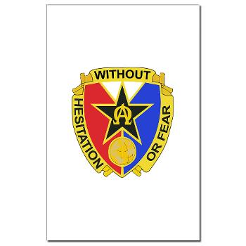901CCB - M01 - 02 - DUI - 901st Contingency Contracting Battalion - Mini Poster Print