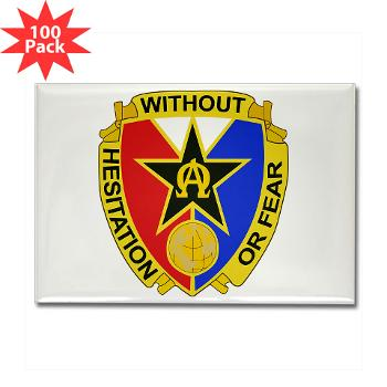 901CCB - M01 - 01 - DUI - 901st Contingency Contracting Battalion - Rectangle Magnet (100 pack)